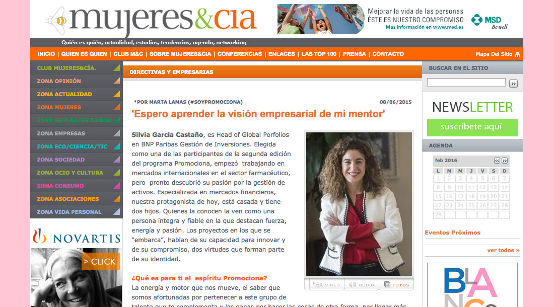 Silvia García Castaño - BNP Paribas - Proyecto Promociona 2ª Edición